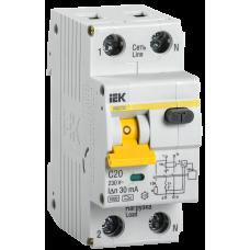 АВДТ 32 С25-Автоматический Выключатель Дифф. тока (Арт: MAD22-5-025-C-30)