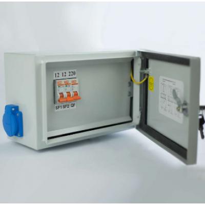 Ящик с понижающим трансформатором ЯТП 0.25 220/36В (3 авт. выкл.) IP54 Кострома ОС0000016261