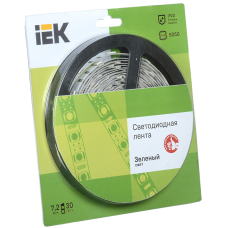 Лента LED 5м  блистер  LSR-5050G30-7,2-IP20-12V IEK