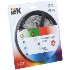 Лента LED 5м  блистер  LSR-5050RGB30-7,2-IP20-12V IEK