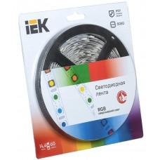 Лента LED 5м  блистер  LSR-5050RGB60-14,4-IP20-12V полноцветная IEK