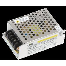 Драйвер LED ИПСН-PRO 25Вт 12 В блок - клеммы  IP20 IEK