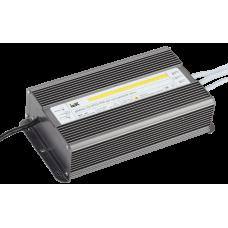 Драйвер LED ИПСН-PRO 200Вт 12 В блок- шнуры IP67 IEK
