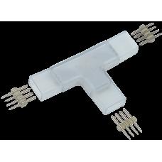 Коннектор Т-образн. 5шт. RGB 14мм (разъем-разъем-разъем) IEK