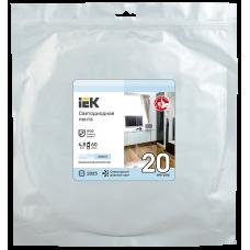 Лента LED 20м LSR-2835W60-4,8-IP20-12В IEK