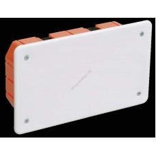 Коробка КМ41026 распаячная 172х96x45мм для полых стен (с саморезами, пластиковые лапки, с (Арт: UKG11-172-096-045-P)