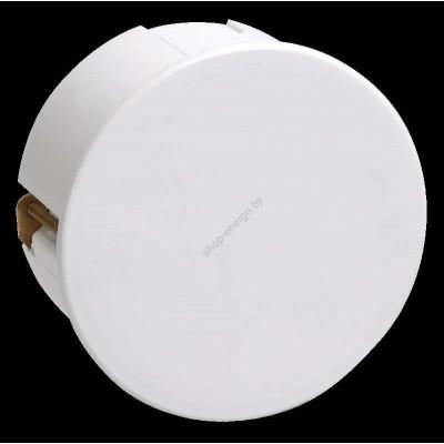 Коробка КМ41024  распаячная  d80*40мм для полых  стен  ( металлические лапки, с крышкой) (Арт: UKG01-080-040-000-M)