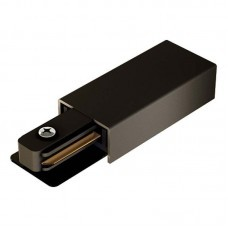 Ввод питания Geniled для однофазного шинопровода черный (арт. 22031)