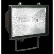 Прожектор ИО1500 галогенный  черный  IP54  ИЭК (Арт: LPI01-1-1500-K02)