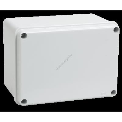 Коробка КМ41261 распаячная для о/п 150х110х85 мм IP44 (RAL7035, гладкие стенки) (Арт: UKO11-150-110-085-K41-44)