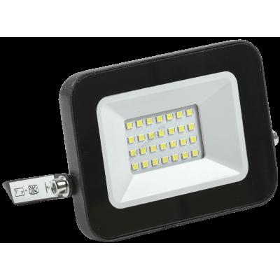Прожектор СДО 06-20 светодиодный черный IP65 4000 K IEK (Арт: LPDO601-20-40-K02)