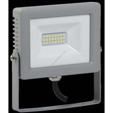 Прожектор СДО 07-20 светодиодный серый IP65 IEK (Арт: LPDO701-20-K03)