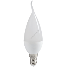 Лампа светодиодная ECO CB35 свеча на ветру 7Вт 230В 3000К E14 IEK (Арт: LLE-CB35-7-230-30-E14)