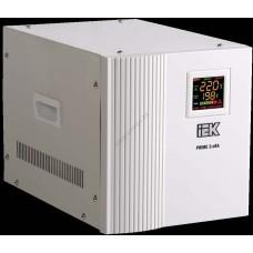 Стабилизатор напряжения переносной серии Prime 3 кВА IEK (Арт: IVS31-1-03000)