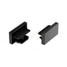 Заглушка для однофазного шинопровода черная (арт 22029)