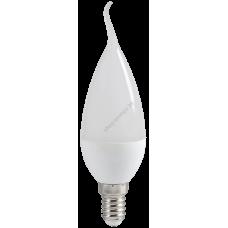 Лампа светодиодная ECO CB35 свеча на ветру 5Вт 230В 4000К E14 IEK (Арт: LLE-CB35-5-230-40-E14)