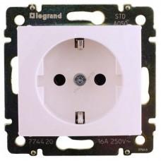 Розетка 1-м электрическая с заземлением