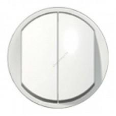 Лицевая панель для двухклавишного переключателя на 2 направления IP44
