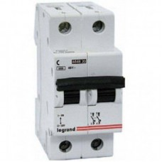 Автоматический выключатель 2п C 20А LR