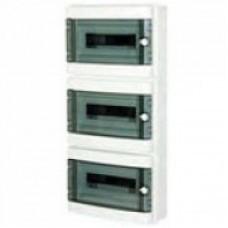 КМПн 2/39 - ИЭК IP 55 корпус пластиковый навесной для 39 (13х3) модульных автомат. выкл. (Арт: MKP72-N-39-55)