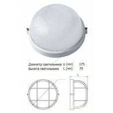 Светильник НПБ 1301 бел. круг 60Вт IP54