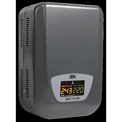 Стабилизатор напряжения настенный серии Shift 10 кВА IEK (Арт: IVS12-1-10000)