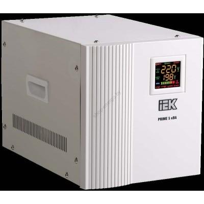 Стабилизатор напряжения переносной серии Prime 5 кВА IEK (Арт: IVS31-1-05000)