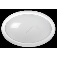 Светильник светодиодный ДПО 3020 8Вт 4500K IP54 овал пластик белый IEK (Арт: LDPO0-3020-8-4500-K01)