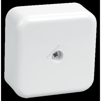 Коробка КМ41206-01 распаячная для о/п 50*50*20мм белая ( с контактной группой) (Арт: UKO10-050-050-020-K01)