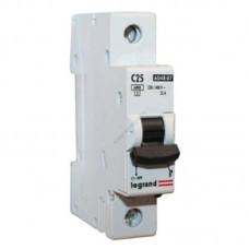 Автоматический выключатель 1п C 25А LR