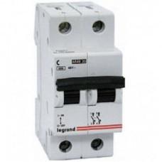 Автоматический выключатель 2п C 6А LR