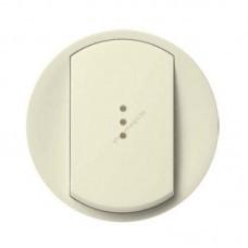 Лицевая панель для выключателя с индикацией (титан)