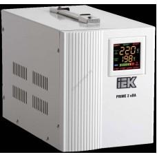 Стабилизатор напряжения переносной серии Prime 2 кВА IEK (Арт: IVS31-1-02000)