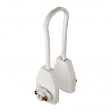 Соединители гибкие кабельные для однофазного шинопровода белые (арт 22024)