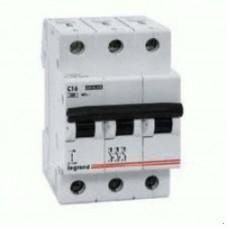 Автоматический выключатель 3п C 10А LR