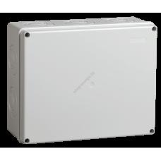 Коробка КМ41272 расп. для о/п 240*195*90мм,IP55 RAL7035 (Арт: UKO10-240-195-090-K41-55)