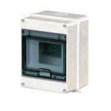 КМПн 2/7 - ИЭК IP 55 корпус пластиковый навесной для 7 модульных автомат. выкл. (Арт: MKP72-N-07-55)