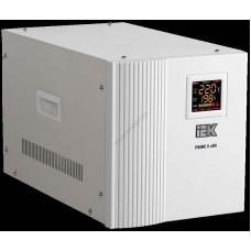 Стабилизатор напряжения переносной серии Prime 8 кВА IEK (Арт: IVS31-1-08000)