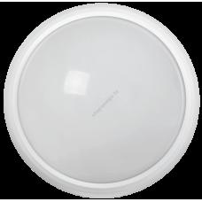 Светильник светодиодный ДПО 3030 12Вт 4500K IP54 круг белый пластик IEK (Арт: LDPO0-3030-12-4500-K01)