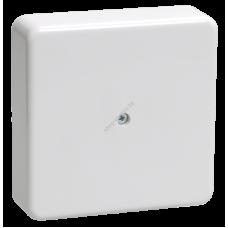 Коробка КМ41219 распаячная для о/п 100*100*29мм белая ( с контактной группой) (Арт: UKO10-100-100-029-K01)