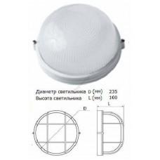 Светильник НПБ 1101 бел. круг 100Вт IP54
