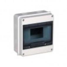 КМПн 2/9 -ИЭК IP 55 корпус пластиковый навесной для 9 модульных автомат.выкл. (Арт: MKP72-N-09-55)