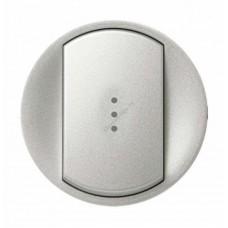 Лицевая панель для выключателя с индикацией (белый)
