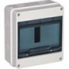 КМПн 2/5 -ИЭК IP 55 корпус пластиковый навесной для 5 модульных автомат.выкл. (Арт: MKP72-N-05-55)