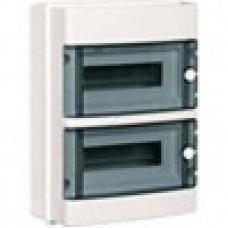 КМПн 2/26 - ИЭК IP 55 корпус пластиковый навесной для 26 (13х2) модульных автомат. выкл. (Арт: MKP72-N-26-55)