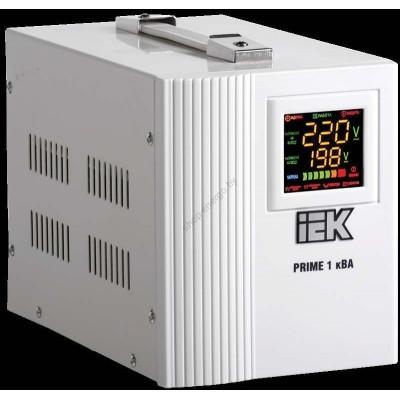 Стабилизатор напряжения переносной серии Prime 1 кВА IEK (Арт: IVS31-1-01000)