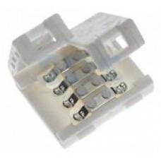 Коннектор соединительный для светодиодной ленты SMD5050RGB 10мм