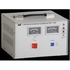 Стабилизатор напряжения СНИ1-1 кВА однофазный ИЭК (Арт: IVS10-1-01000)