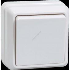 ВС20-1-0 ОБ Выключатель 1кл 10А  откр.уст. ОКТАВА  (белый) (Арт: EVO10-K01-10-DC)