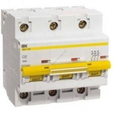 Автоматические выключатели ВА 47-100 3Р 100 А 10 кА  х-ка D